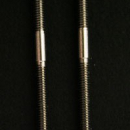 Stainless Flap Push Rods 2.5mm Thread