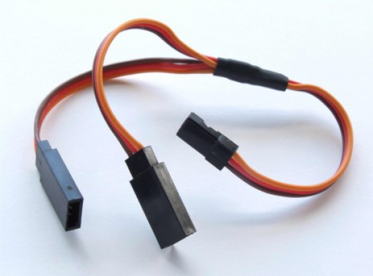 Servo Y-Lead JR Uni plugs