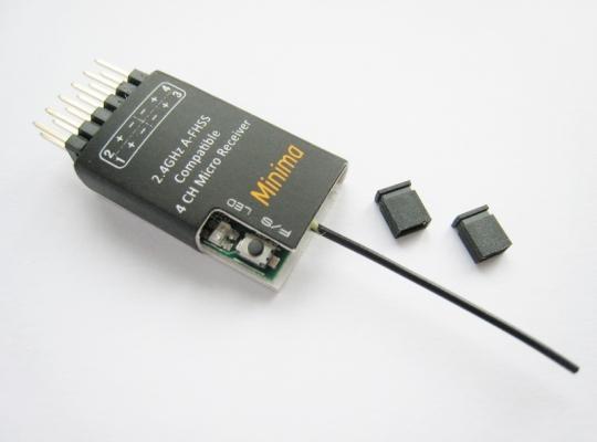 FrSky Hitec Compatible Minima 4 channel 2.4GHz RX