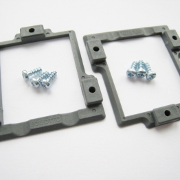 Servo Frames for Hitec HS-125mg and HS-5125mg Wing Servos