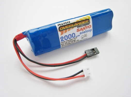 Sanyo Eneloop Taranis X9D 7.2v 2000mAh Replacement Battery
