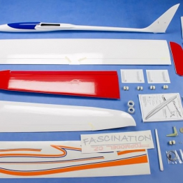 TOPMODELcz Fascination Design II 3.6M EP Sport and F5J Glider