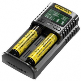 Nitecore UM2 USB Charger for Li Ion Cells