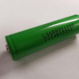 LG 18650 MJ1 3500mAh Button Top Li ion Battery