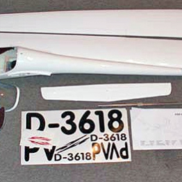 Royal Model ASW-28-18 4M All Moulded Sailplane