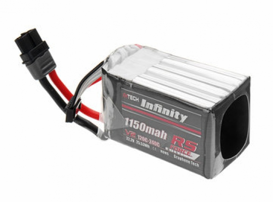 Infinity 1150mah  RS Force V2 22.2V 6S Lipo Battery