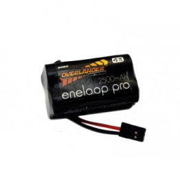 Panasonic Eneloop Pro 2500mAh AA 4.8v Square Receiver Battery Pack