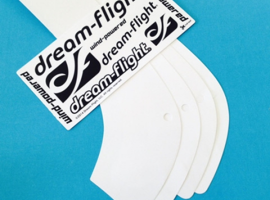Dream-Flight Libelle Wing Reinforcement Decal and Logos Set