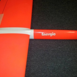 Energic 2.5 ST Carbon Glider Flouresent red