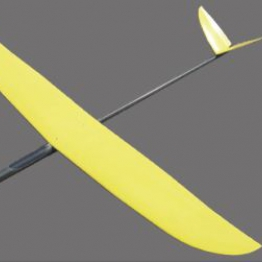 Royal Model Feather 1500mm Lightweight Moulded Glider
