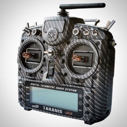 Frsky Taranis Case Carbon Finish Shell
