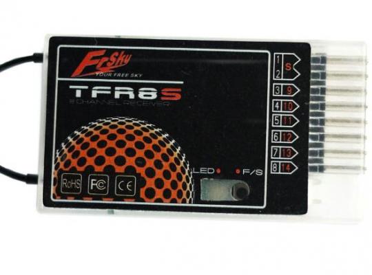 FrSky TFR8S FASST Compatible 2.4ghz Receiver