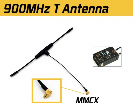 FrSky 868MHz MMCX Dipole T Antenna