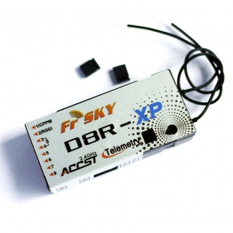 FrSky D8R-XP 8 Channel 2.4ghz Receiver