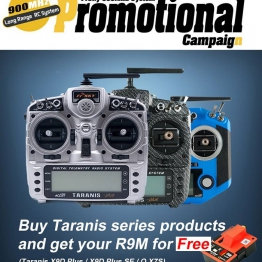 FrSky Taranis X9D and QX7S with Free R9M Module