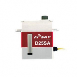 FrSky D25SA High Speed Digital Servo Metal Case and Gears