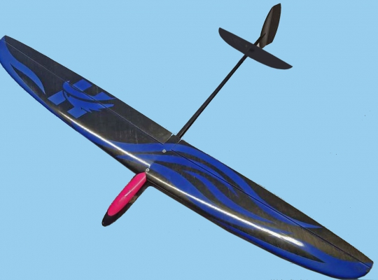 The Hawk Moulded 1M DLG Glider