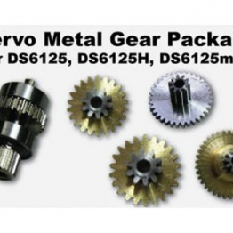 MKS DS6125 Metal Titanium Gear Set