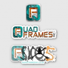 QuadFramesUK SXQ5 Sticker Pack