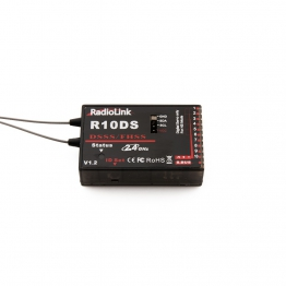 RadioLink R10DS 2.4Ghz 10 Channel Receiver