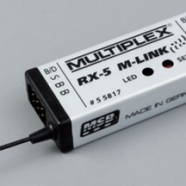 Multiplex RX-5 M-LINK 2.4 GHz Receiver  #55817