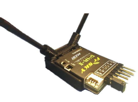 Antenna and Receiver Cradle Support Frsky D4R-II X4R