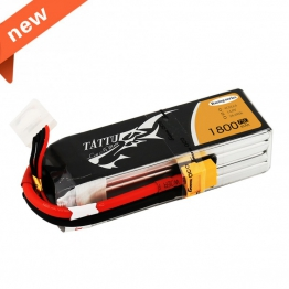 TATTU 1800mAh 14.8V 75C 4S1P Lipo Battery Pack Specially Made for Victory Limited Edition