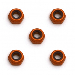 Team Associated 4449 4-40 Aluminum Locknut small pattern