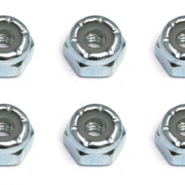 Team Associated 6952 8-32 Locking Nut steel