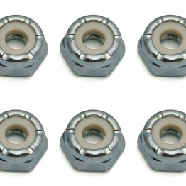 Team Associated 6953 8-32 Low Profile Locknut steel