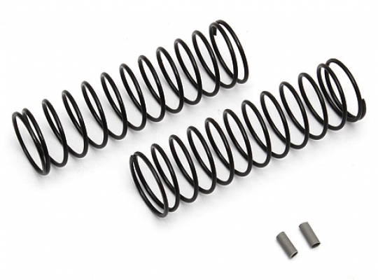 Team Associated91338 12mm Rear Spring gray 2.20 lb