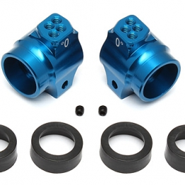 Team Associated 91548 Aluminium Rear Hubs blue