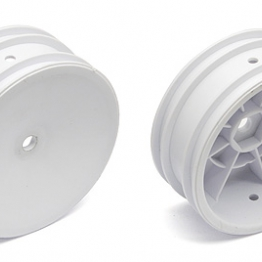 Team Associated 9690 Buggy Front Wheel hex white