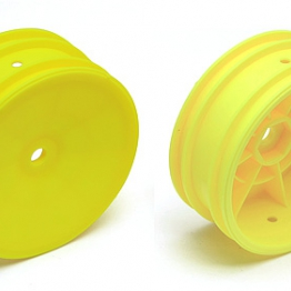 Team Associated 9691 Buggy Front Wheel hex yellow
