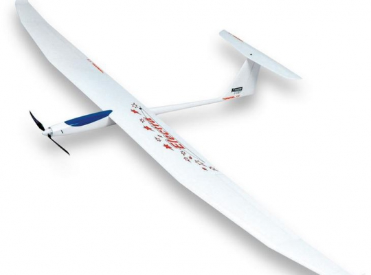 TOPMODELcz Electra PRO 2.55M High Performance EP Sailplane