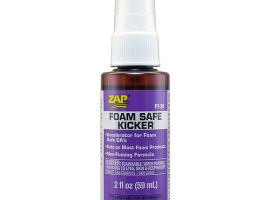 ZAP Foam-Safe KICKER Spray 2oz 59ml