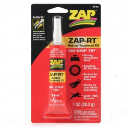 ZAP PT44 Zap-RT Rubber Toughened CA Glue 1oz Tube