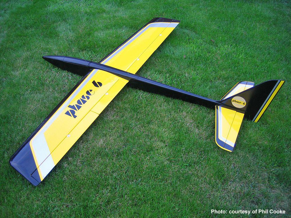 chris foss designs phase 6 rc glider