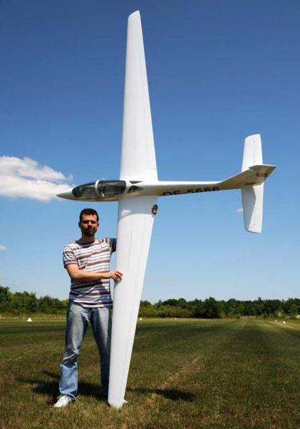 Topmodelcz Fox Mdm1 4m Delux Semi Scale Glider