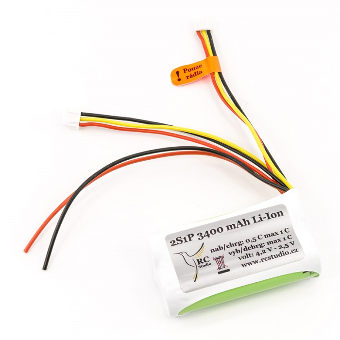 FrSky Horus X10 Sanyo Li Ion Transmitter Battery Pack Upgrade
